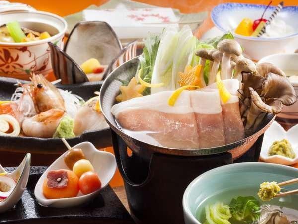 ●ご夕食はお部屋で 〜遊湯食彩〜【楽膳】