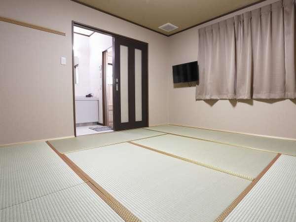 【和室8畳デラックス】デラックスタイプのお部屋はお風呂・洗面所・トイレが付いています!