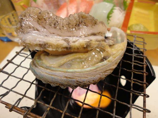 【じゃらん限定】<おすすめ!>鮑の踊り焼きプラン☆特典付/貸切風呂利用/海辺の民宿料理
