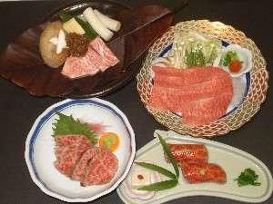 大好評の「ごっつおプラン」で4種類の飛騨牛料理をどうぞ!