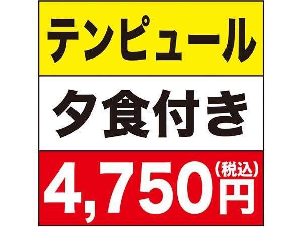 テンピュールカプセル☆夕食付きプラン【男性専用】