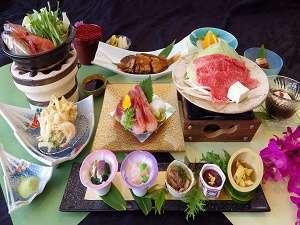ポイント増量中★四季折々の季節の日本料理「満喫」プラン★夕食ランクアップで欲張りプラン♪♪