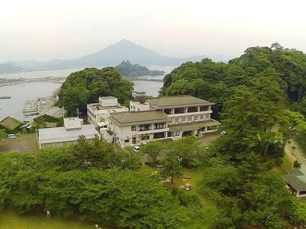 海幸と絶景風呂 城山荘