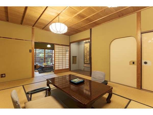 《1泊2食付昭和亭客室》掘りごたつ付きの昭和を思わせる懐かしいお部屋