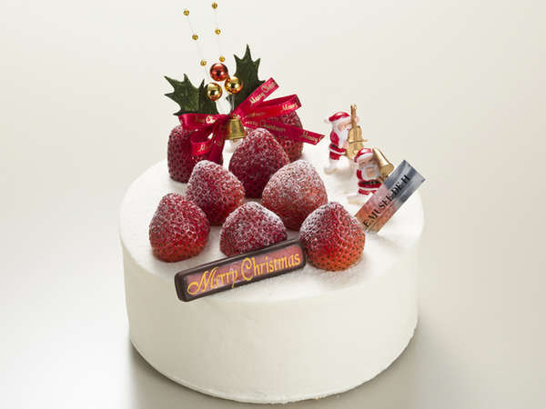 旅館でのんびり過ごすクリスマス「ル・ミュゼ・ドゥ・アッシュ」クリスマスケーキ&ワンドリンク付きプラン