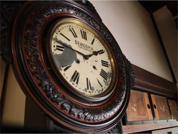 100年前の古時計