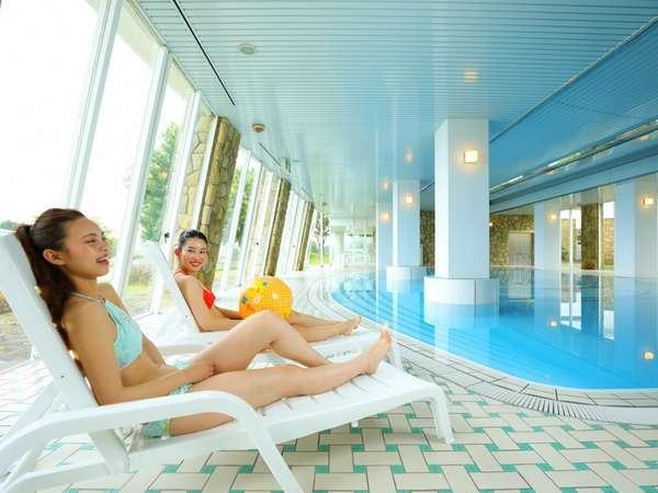 【室内プール】365日利用できる室内プール