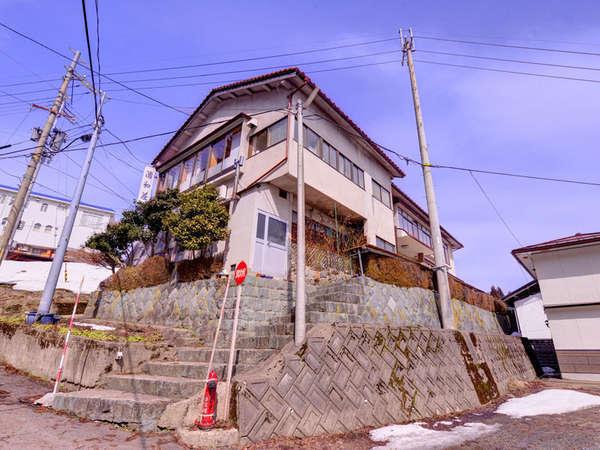 東鉢伏高原 清和荘の外観