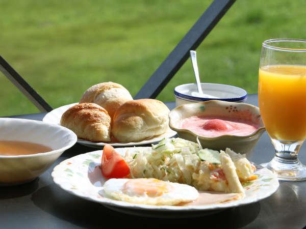 気持ちの良い朝を迎えてオシャレに洋食をどうぞ!(和・洋 選べる朝食)