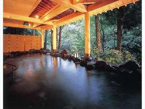 渓流野天風呂「鶴仙」