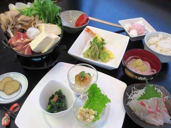 【秋田の食材を楽しむ】春満開♪いいとこどり!2食付プラン