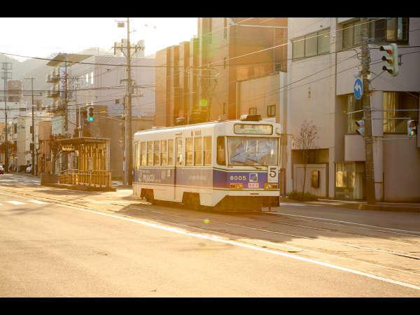【市電でGO!】市電一日券チケットの特典付プラン♪☆函館市内の観光は路面電車がオススメ☆
