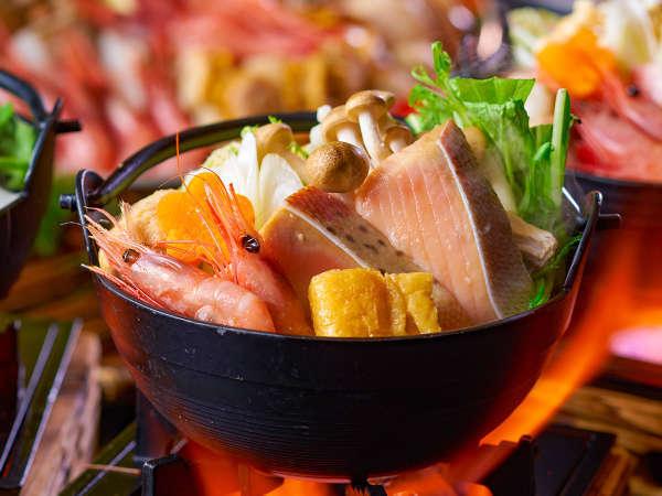 【★2021秋の料理フェア★】海鮮寄せ鍋※イメージ