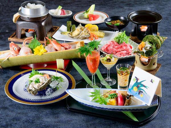 *四季旬彩 夏膳/厳選した地のものに、料理長が腕を振るった料理をご堪能ください。