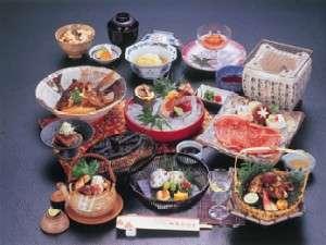 秋の味覚か並ぶお料理(一例)