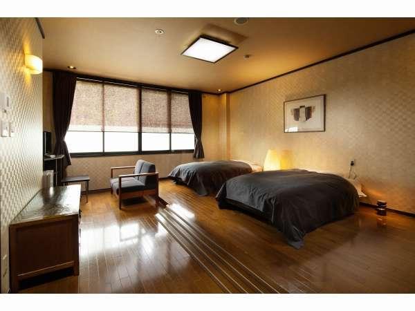 和洋特別室ツイン【洋室15畳+和室8畳】
