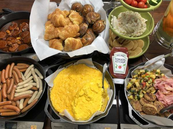 【 別館 】 和洋ビュッフェを楽しめる朝食付プラン