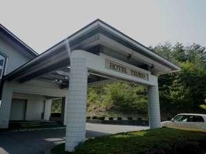 ホテル鶴の外観