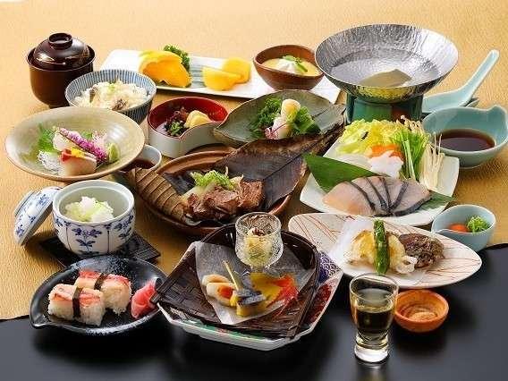 【期間限定】日本料理倉敷で旬味会席〜初霜〜≪夕朝食付≫