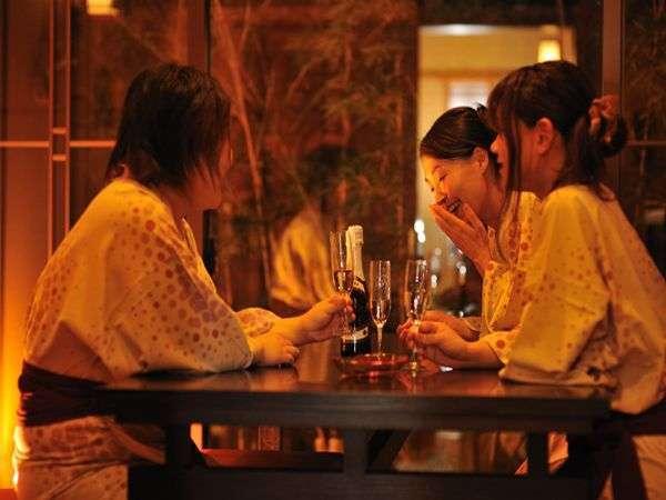 【3大特典付レディースプラン】トリュフチョコ、スパークリングワインハーフ他★女性同士のご旅行に♪