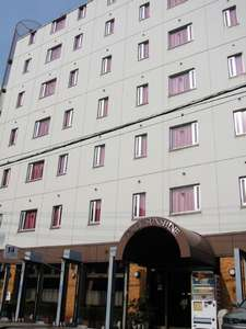 ホテル岡山サンシャインの外観