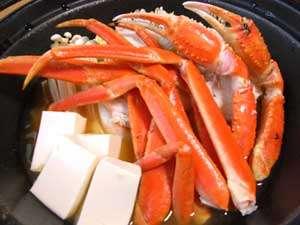 *【かに鍋】贅沢、日本海の幸を存分にご堪能!身がぷりっと味わい深く、出汁もまた美味です♪