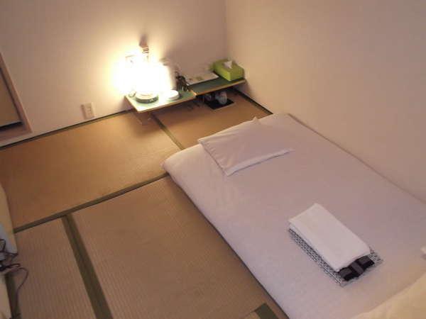『1日1室限定』1人旅におすすめ♪ちっちゃい和室(3畳)
