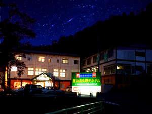 晴れた日の夜は満天の星空を見る事ができます。運がいいと流れ星が見れることも☆