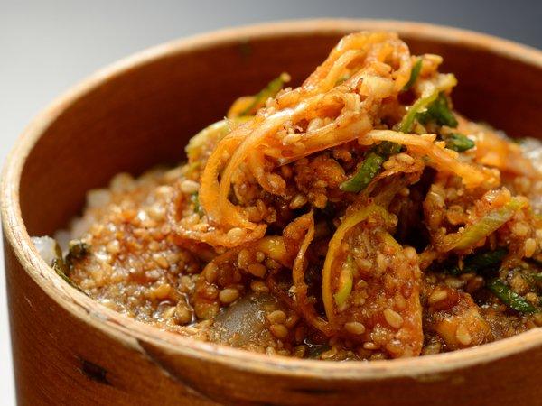 鰺ヶ沢新名物「ヒラメの漬け丼」■季節の会席膳プラン