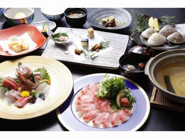 【銚子といえばキンメ鯛!】しゃぶしゃぶ鍋をご賞味ください!(ホテル棟)