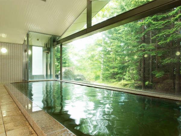 *[ザ・グリーンリーフ・ニセコビレッジ温泉]塩分が多く美肌効果が高い美人の湯として親しまれています。