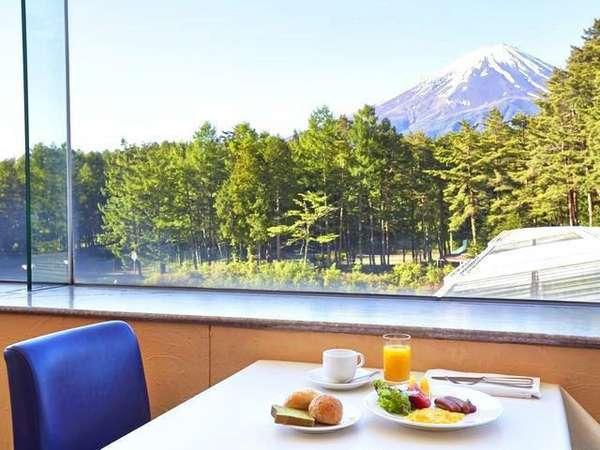 【朝食】富士山を眺めながらごゆっくりお召し上がりください※イメージ