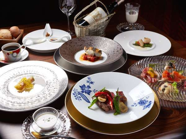 【夕食】フレンチスタイルディナー/特別な日におすすめのディナーコース※イメージ