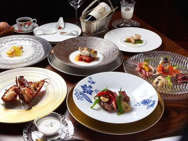 【夕食】フレンチスタイルディナー/特別な日にはとびきりの贅沢をフォレストヴィレッジで※イメージ