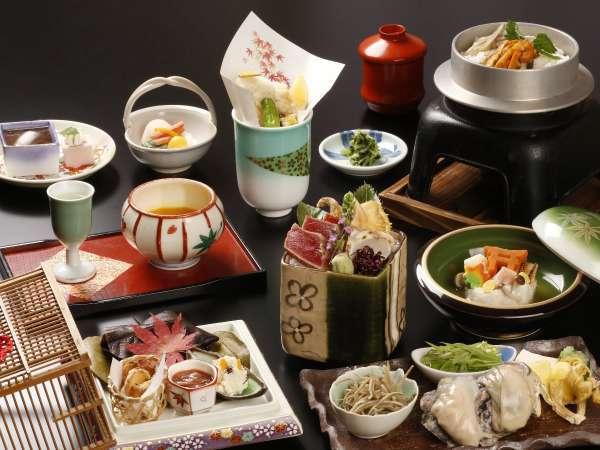 【スタンダード和食プラン】宮島観光にピッタリ♪旬の和食会席を堪能!
