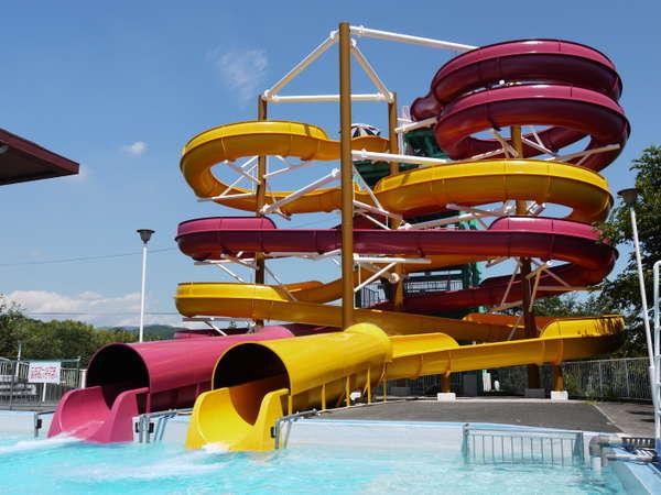 暑い夏も涼しく乗り切れ!廿日市最大のプール施設 ちゅーピープール入場券付き1泊2食洋食プラン