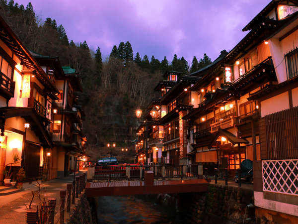 【1泊朝食付】銀山温泉の別世界を散策♪☆禁煙ルーム