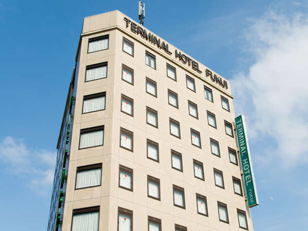 【素泊まり】当日予約OK!福井駅徒歩1分で出張・観光の拠点に便利