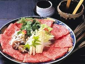 【豊後牛のしゃぶしゃぶ】厳選された極上の肉だけを使用
