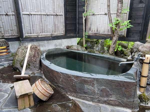 【客室露天風呂】一例