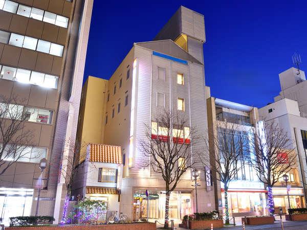 盛岡シティホテルの外観