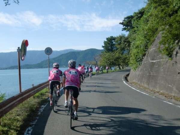 【ビワイチ応援】 サイクリスト大歓迎!自転車スタンド設置&お部屋へ自転車持込み可能 ※一泊朝食付