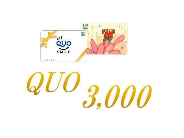 ビジネスマンにおすすめ★【QUOカード】3000円付プラン