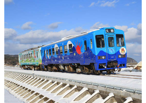 全線で運転を再開した三陸鉄道は、「こたつ列車」など魅力しつづける鉄道として活躍中です!