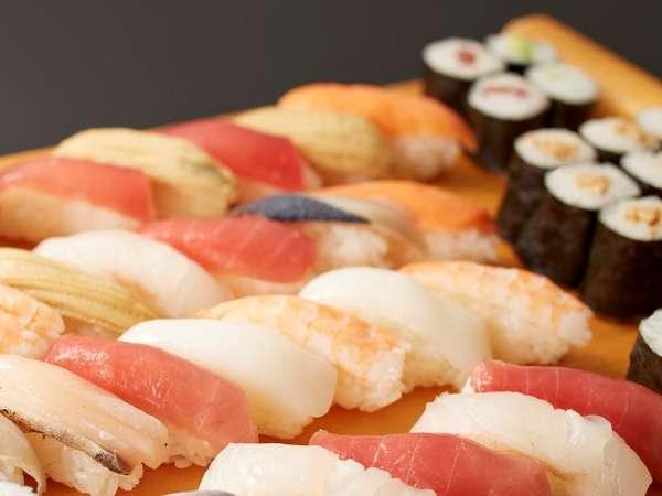 料理人が心を込めて握る「にぎり寿司」