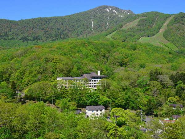 ホテル岩井の外観