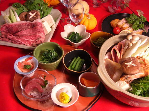 2泊目はうれしい和食のおもてなし!
