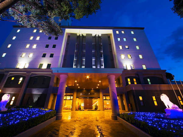 ホテルステラコート太安閣の外観