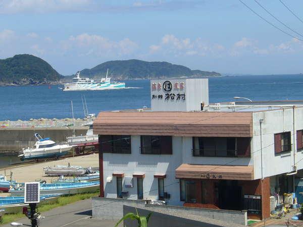 船で行く旅の宿 別館まつむらの外観