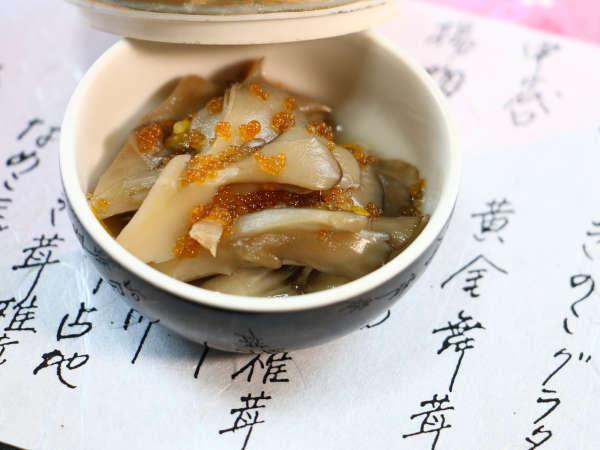 夕食_きのこ界のスター、舞茸料理はやはり人気です…。力が入ります!
